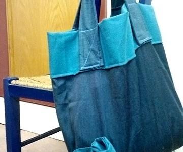 Oficina de sacos de tecido