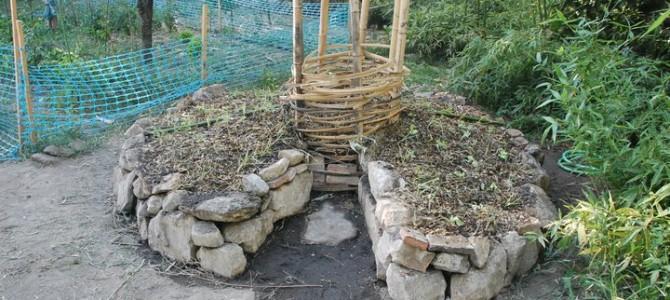 Construção de Horta Mandala / Piquenique convívio